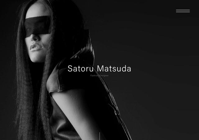 Satoru Matsuda|Fashion Designer